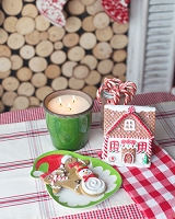 Christmas Tree Container Candle