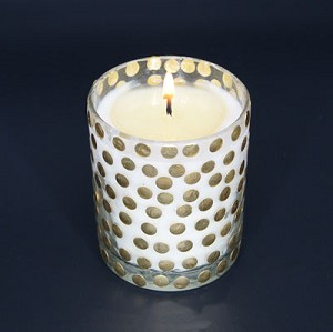 Gold Dot Votive