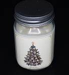 Balsam Fir - Christmas Collection Mason Jar Candle